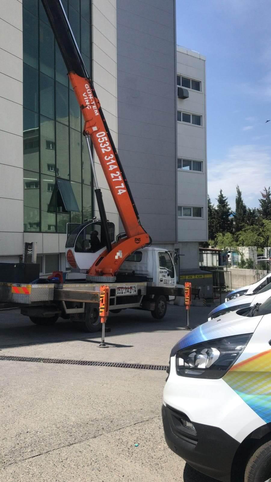 Bina dış cephe temizliği