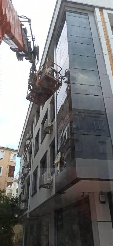 İstanbul dış cephe cam temizliği